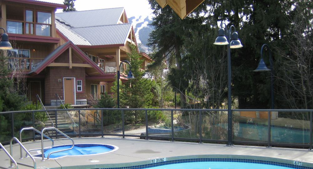 Whistler Glaciers Reach Pool