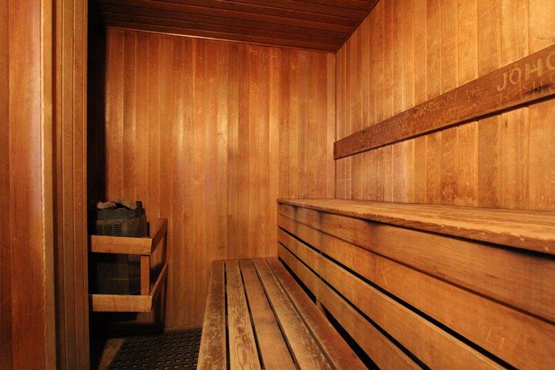 Whistler Glaciers Reach Sauna