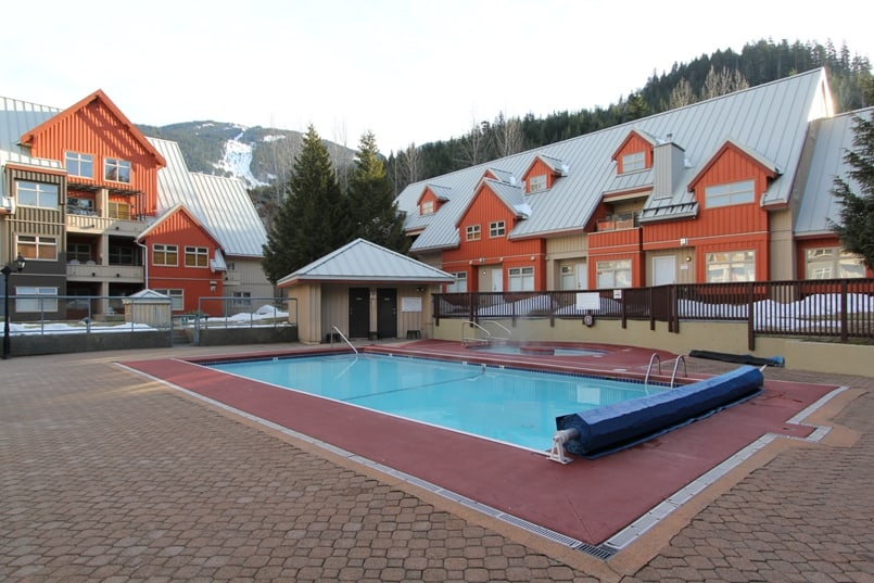 Whistler Lake Placid Lodge Pool