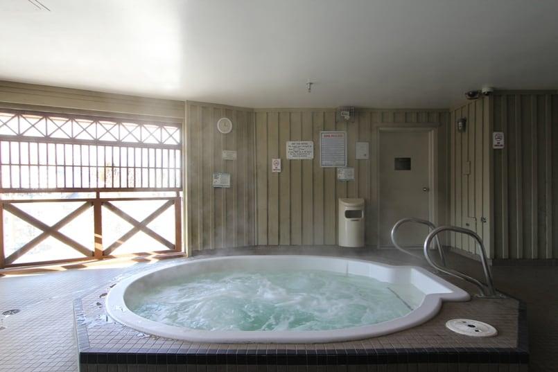 Whistler Marketplace Lodge Hot Tub