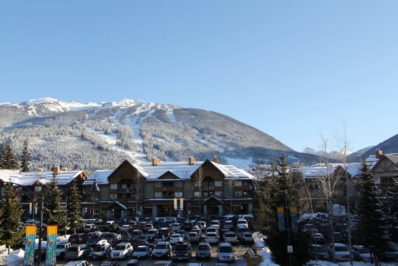 Whistler Marketplace Lodge View