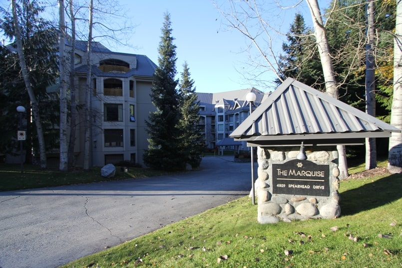 Whistler Marquise Sign
